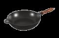 Сотейник с деревянной ручкой (черный)