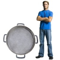 Сковорода чугунная диаметром 900 мм