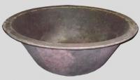 Купель чугунная (чан) для бани сауны