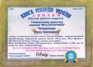 Рекорд 1 :: Самый большой самовар Украины