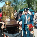 Празднование 9 мая в Запорожье