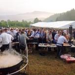 Корпоратив ДТЕК в Карпатских горах