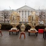 Рекорд Украины - Самое большое количество самоваров на одной площади