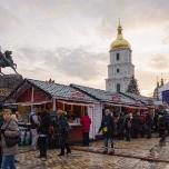 Новогодняя ярмарка на Софийской Площади